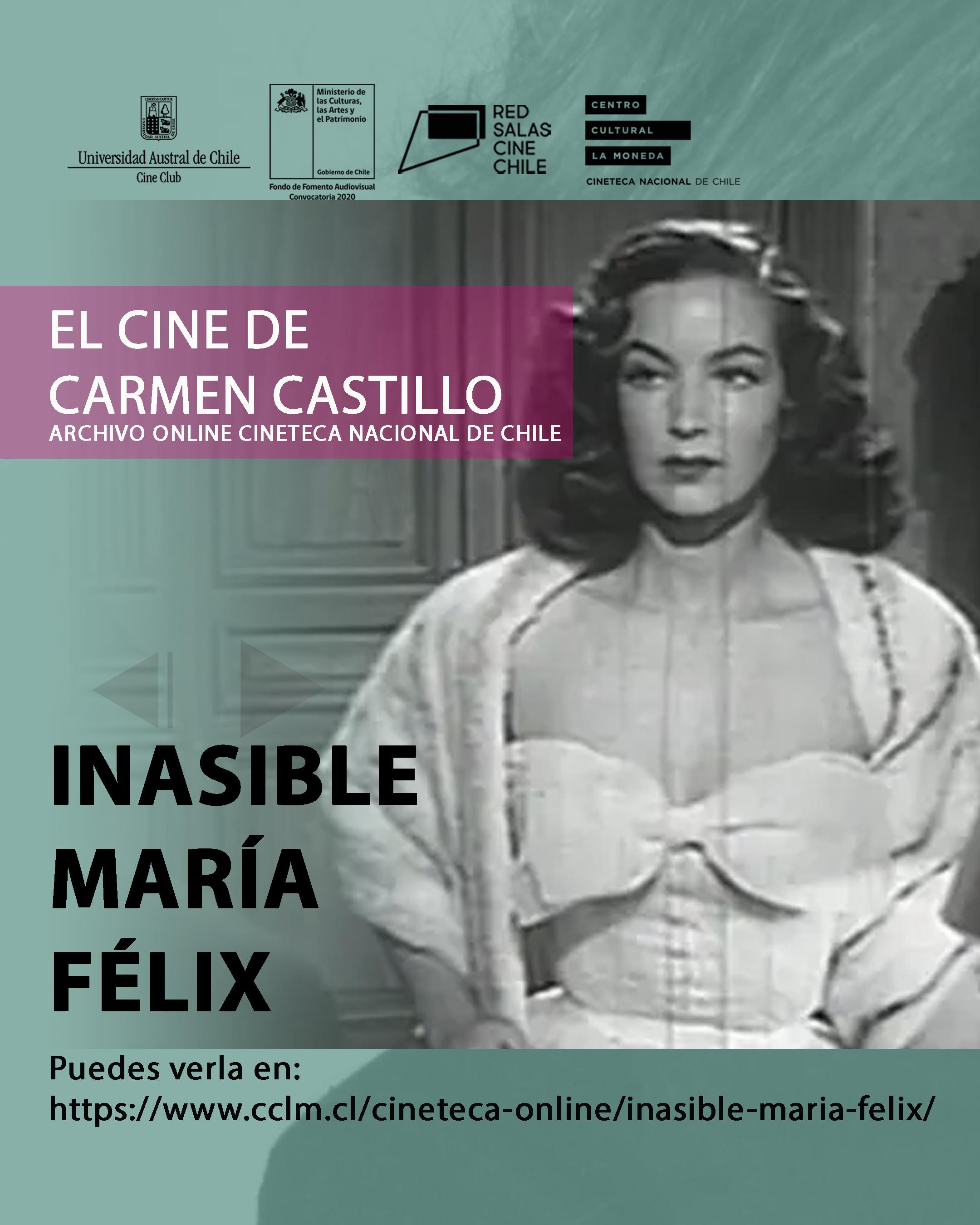 Inasible María Félix