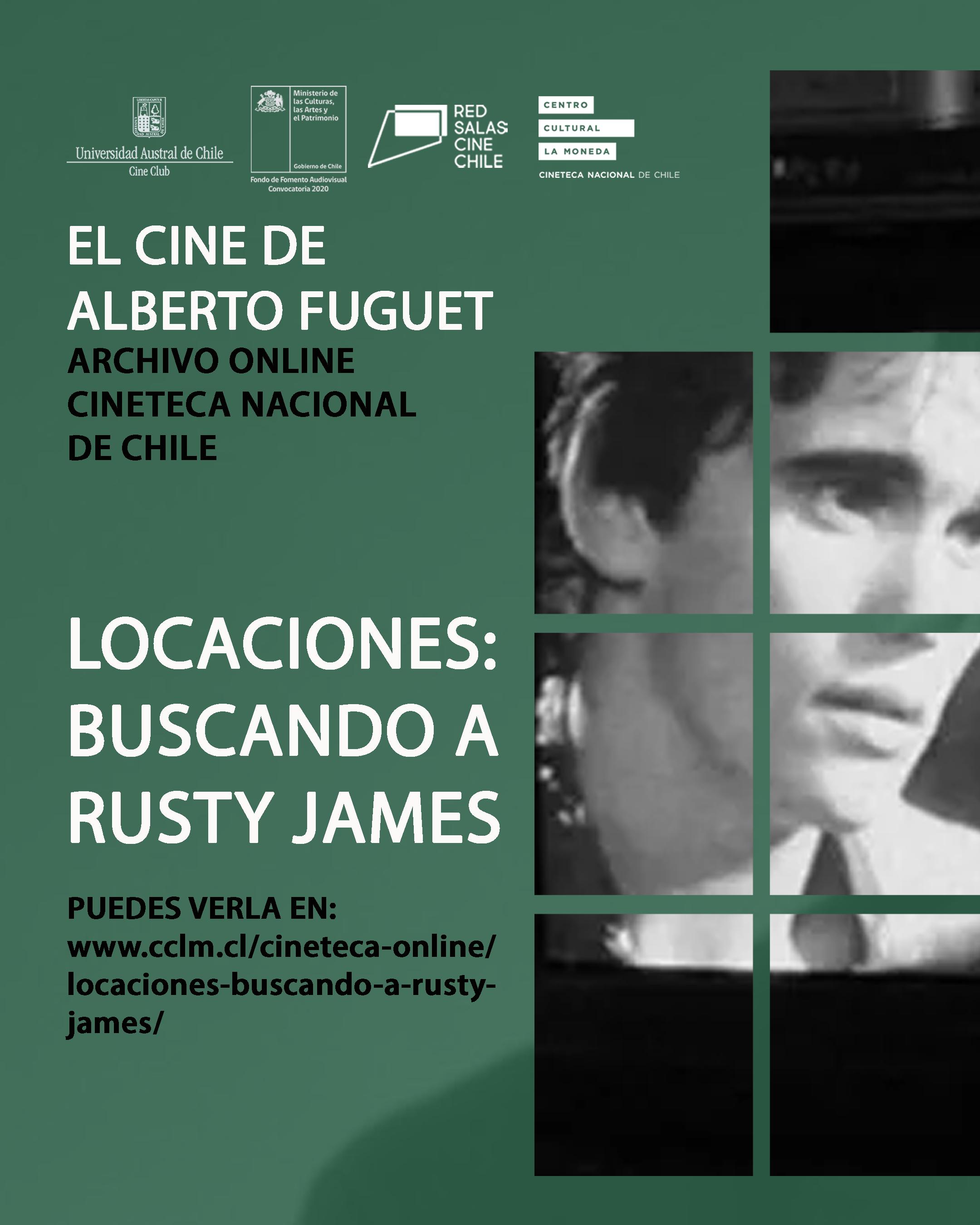 Locaciones: Buscando a Rusty James